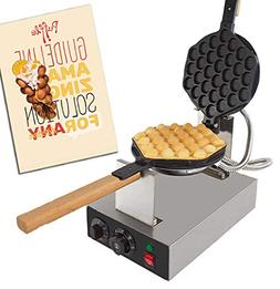 ALD Kitchen Puffle Waffle Maker Professional Rotated Nonstic