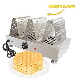 Puffle Waffle Maker Professional for EGG Waffle, Puff, Hong