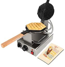 TOP Version Puffle Waffle Maker Professional Rotated Nonstic