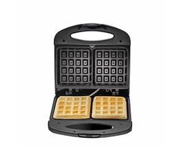Chefman RJ01-B-W 2 Slice Waffle Maker, Black