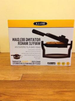 Bella Rotating Belgian Waffle Maker 1000 Watts Nonstick BPA