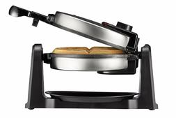 Chefman Rotating Belgian Waffle Maker 180° Single Flip Waff