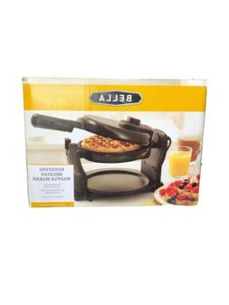 Rotating Belgian Waffle Maker Commercial Non Stick Round Bre
