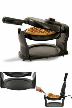 rotating belgian waffle maker non stick waffles