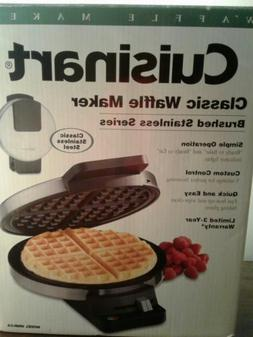 Cuisinart Round Classic Waffle Maker Machine Iron Baker Brea