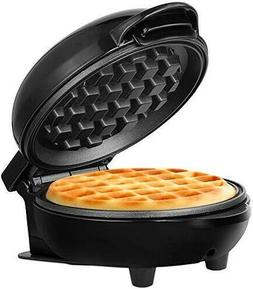 Round Waffle Maker Belgian Electric Breakfast Griddle Iron S