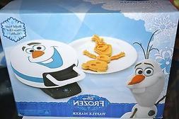 """DISNEY'S FROZEN """"Olaf"""" Character Shape Waffle Maker Breakfas"""