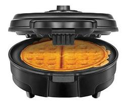 Chefman Shade Selector Round Belgian Waffle Iron No Mess Coo