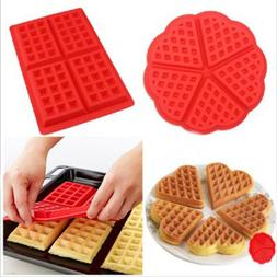 ULKNN Silicone <font><b>Waffle</b></font> Mold bakeware DIY