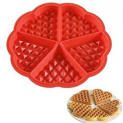MATAS Silicone mould waffle cake chocolate biscuit or bread