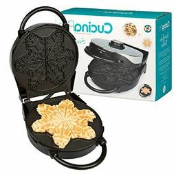 Snowflake Waffle Maker- Non-Stick Winter Holiday Waffler Iro
