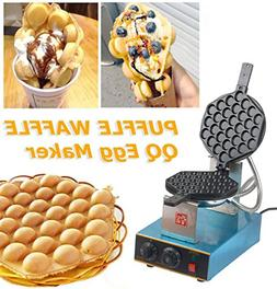 Adoner Stainless Steel Electric Egg Cake Oven QQ Egg Waffle