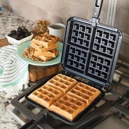 stovetop belgian waffle maker