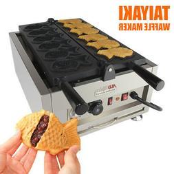Taiyaki Fish Waffle Maker 110V | ALDKitchen 6 pcs Commercial