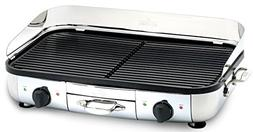 All-Clad TG700262 Electric Indoor Grill with Extra-Large Pre
