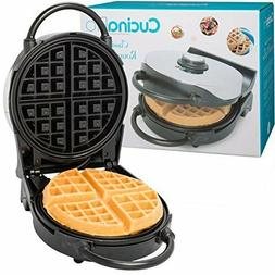 Thin Waffle Maker Old Fashioned Iron Pour Cooker Non Belgian