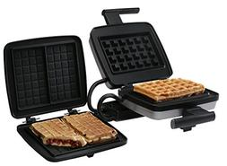 Croquade U11001 Belgian Waffle Maker Bundle, includes Belgia