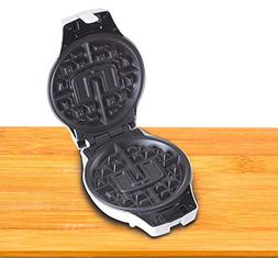 University of Miami Waffle Iron Insert Plate