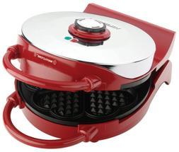 VillaWare V015-3100R-U00 Red Heart Waffler