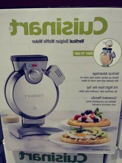 Cuisinart Vertical Belgian Waffle Maker Nonstick Electric Ba