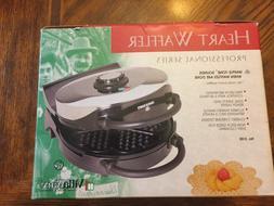 VillaWare V3100 Classic Waffler Heart Shaped