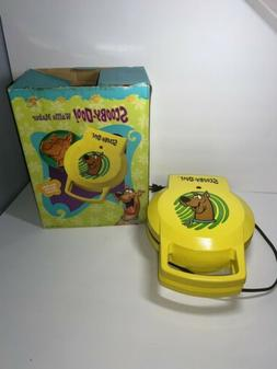 Vintage Scooby-Doo Waffle/Pancake Maker Yellow - Made by Sal