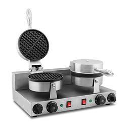 FoodKing Waffle Baker Waffle Iron Waffle Maker Electric Waff
