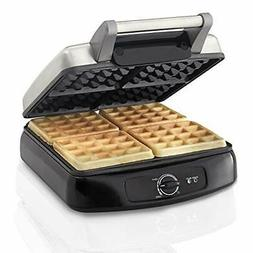 Waffle Maker 4 Splice Easy Breakfast Farberware Bake No Stic
