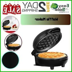 Ess Non Stick Waffle Maker Personal Easy Clean Cook Meal Sna