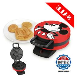 Waffle Maker Disney Mickey Mouse Shape for Kids Childrens Br