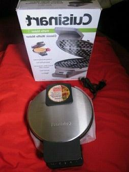 Cuisinart Waffle Maker Model WMR-CA New Round Classic Waffle