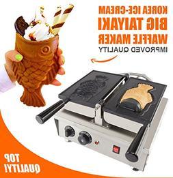 ALDKitchen Taiyaki Fish Waffle Maker 110V | Commercial Use J