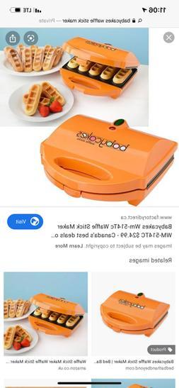 waffle maker orange