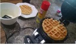 Waffle Maker WAF-F20 / WMK600 Professional Double Belgian Re