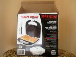 Better Chef Waffle Maker - White - Model IM-295W - New in Bo