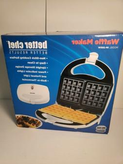 waffle maker white new in box
