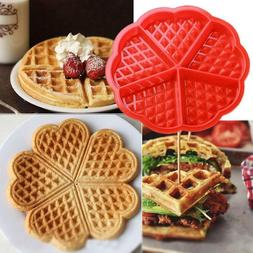 Waffle Mold Shape Maker Nonstick Iron Pan Machine Cone Silic
