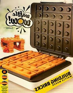 Waffle WOW! Building Brick Mini Waffle Iron Maker Build Stic