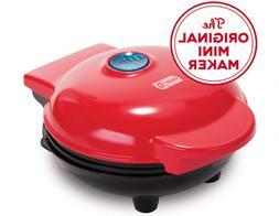 Waffles Maker Machine,MINI Size, Easy&Quick,Red