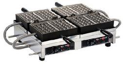 WECCHBAT Eurodib Belgian Waffle Maker 4 x 7 Liege  Model WEC