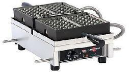 WECDHAAS Eurodib Belgian Waffle Maker 4 X 7 Liege  Model WEC