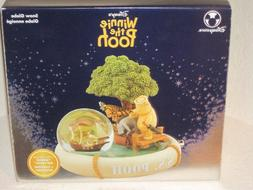 Walt Disney Winnie the Pooh Musical Snow Globe Classic Pooh