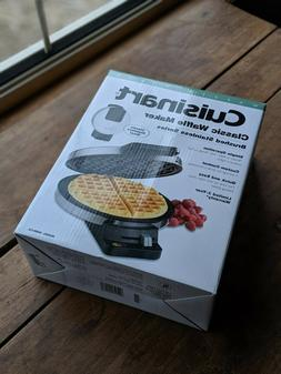Cuisinart WMR-CA Round Classic Waffle Maker Iron. Brushed St
